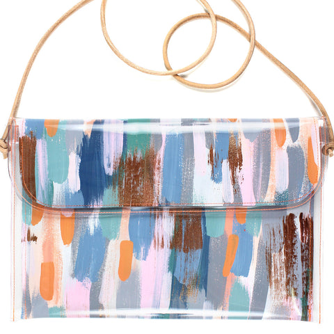 baby blue | large handbag