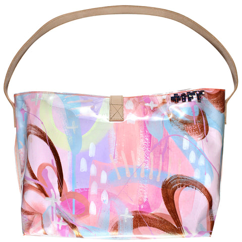 butterfly kisses | bucket tote