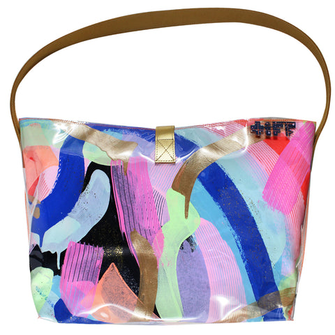 french kiss | bucket tote