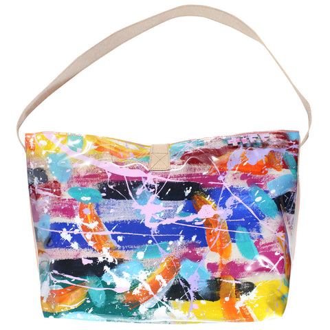 make a splash | bucket tote