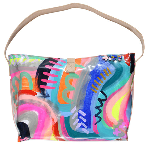 sun showers | bucket tote