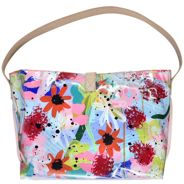 sunshine fields | bucket tote