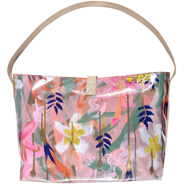 the tropics | bucket tote