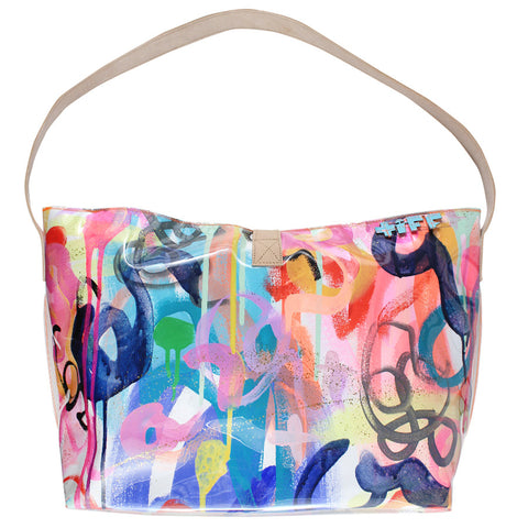 twist & spark | bucket tote