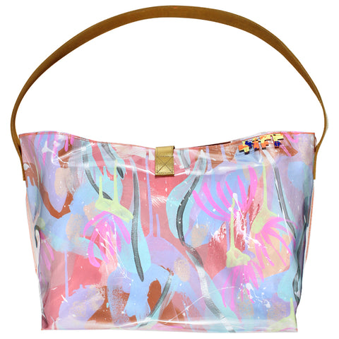 water lily | bucket tote