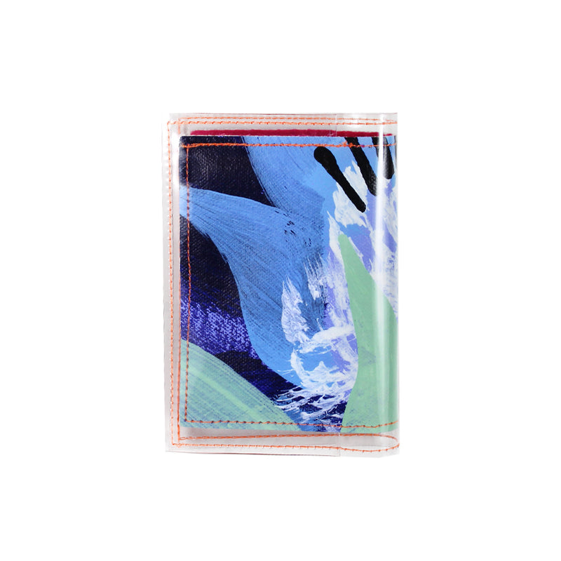 passion flower | card wallet