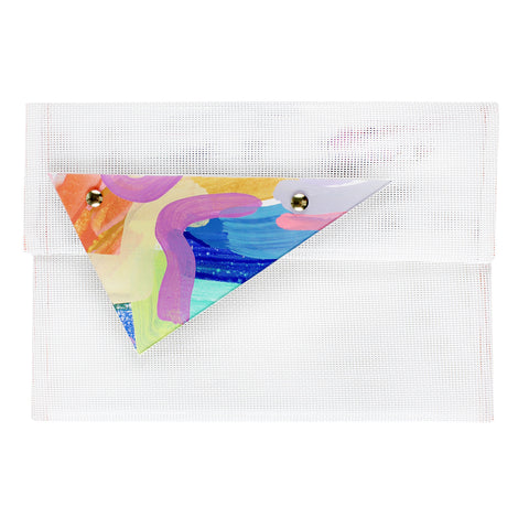 chasing rainbows | triangle perspex