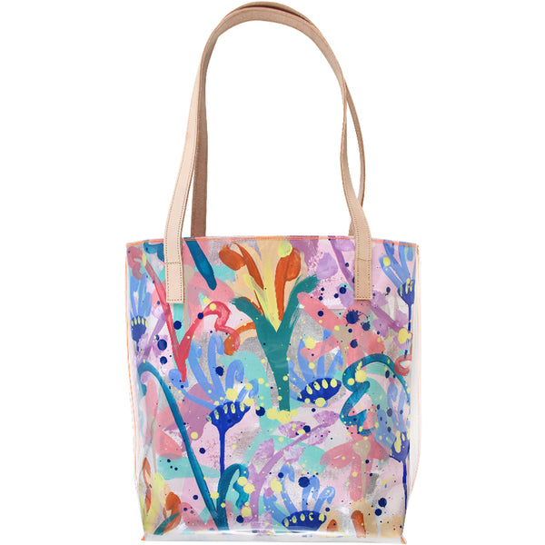 dancing daisies | classic tote - Tiff Manuell