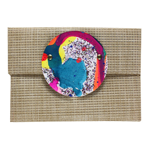 clowning around | round perspex