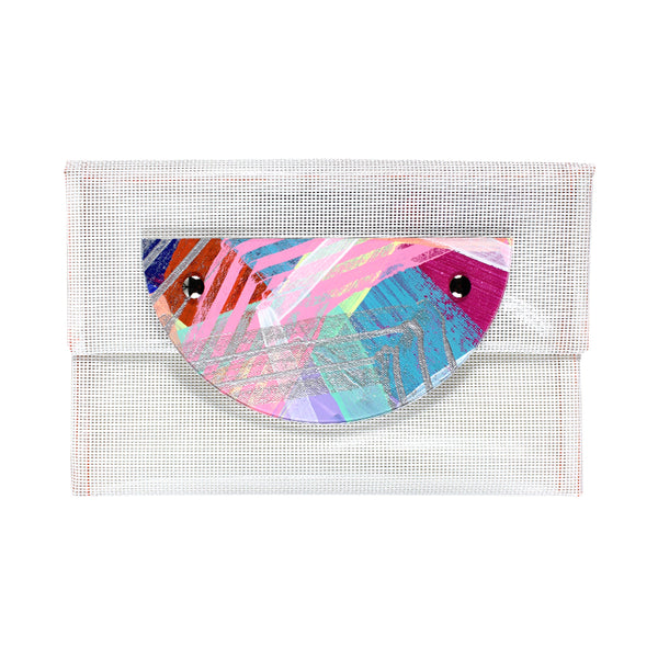 flash dance | small crescent perspex