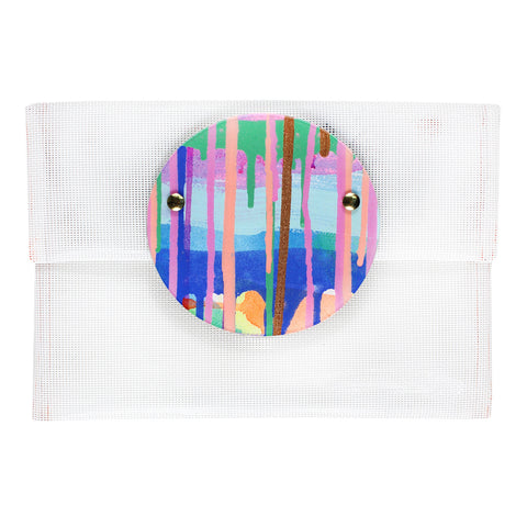 day dream believer | round perspex