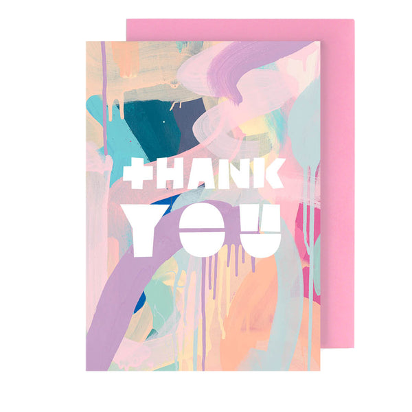 thank you | greeting card