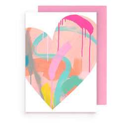 heart | greeting card - Tiff Manuell