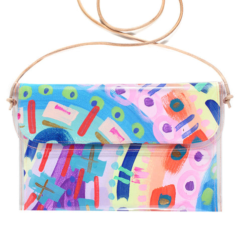 pastel playground | large handbag