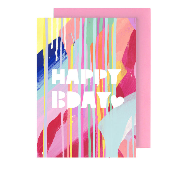 happy bday | greeting card - Tiff Manuell