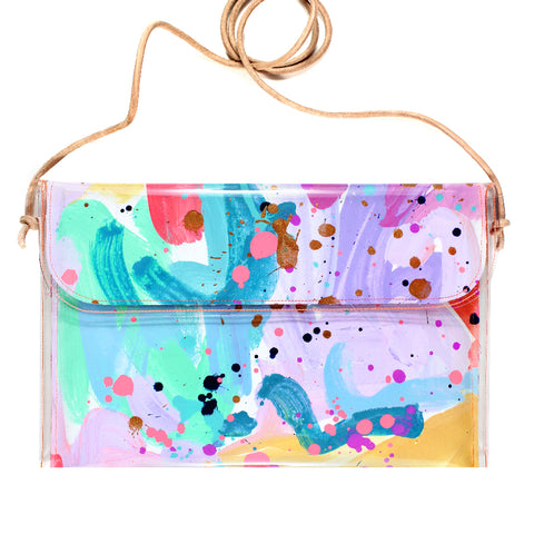 over the rainbow | large handbag