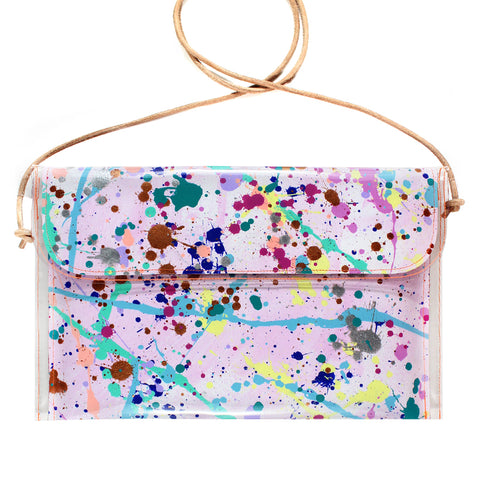 sea foam | large handbag