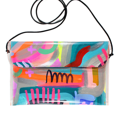 sun showers | large handbag