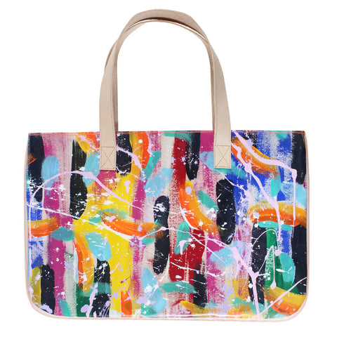 make a splash | long tote