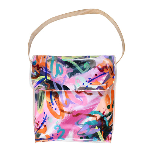 flower pot | messenger bag