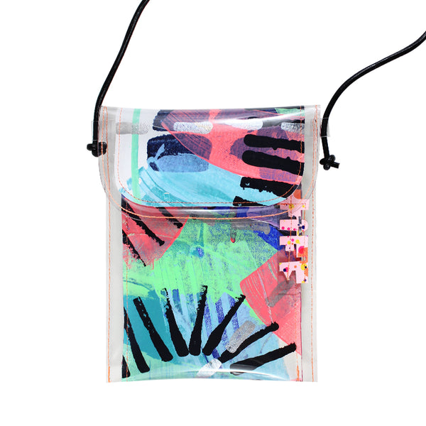 rainbow riot | mini handbag