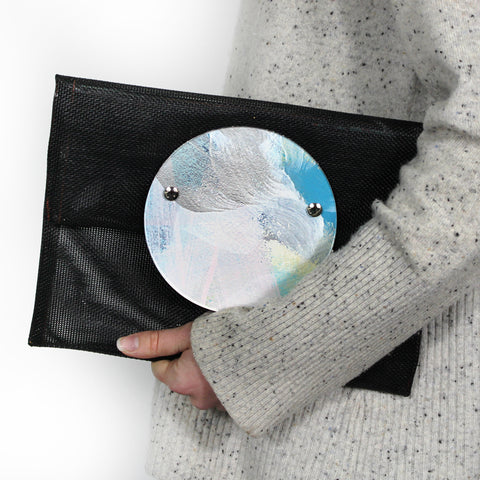 above the clouds | round perspex