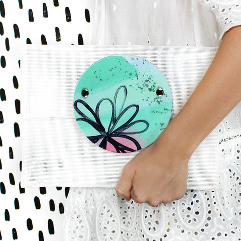 off with the fairies | round perspex