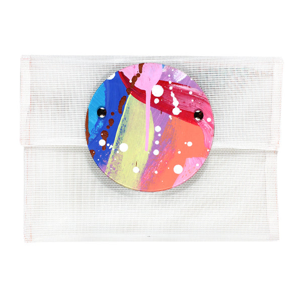 sparks fly | round perspex