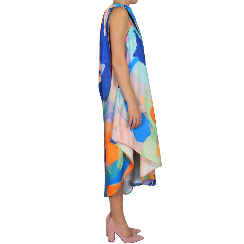sea seeker | one shoulder dress