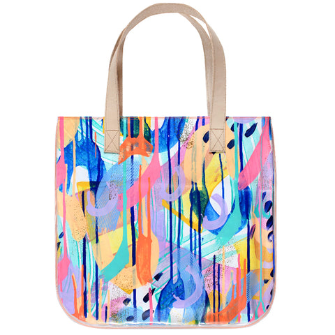camouflage | tall tote