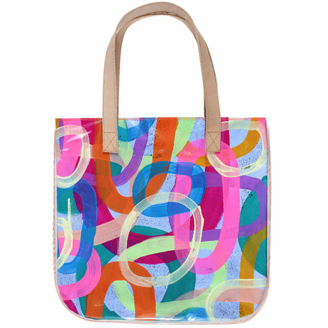circle of love | tall tote