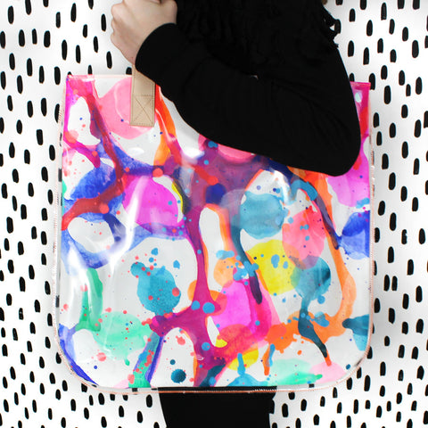 clowning around | tall tote
