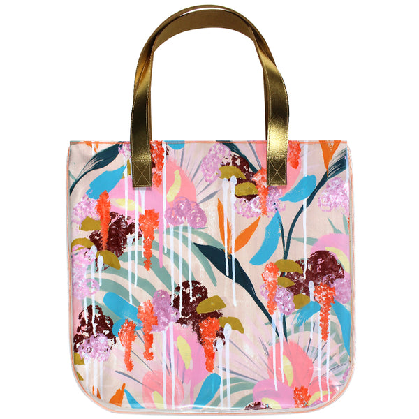 palm cove | tall tote