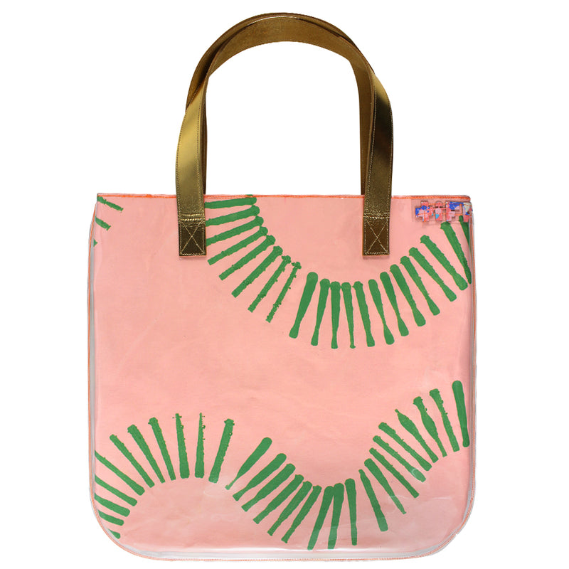 paradise found | tall tote