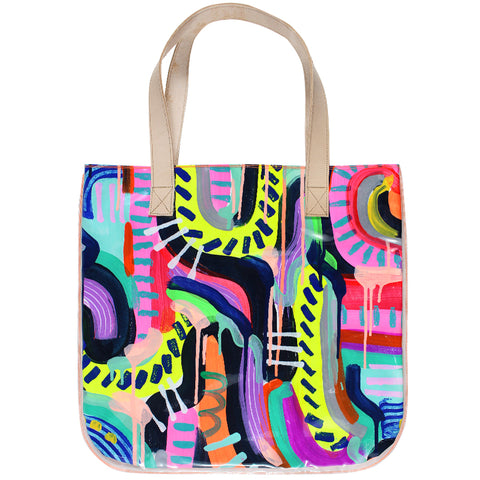 run the world | tall tote