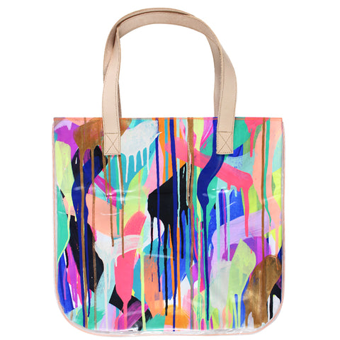 sun soaked | tall tote