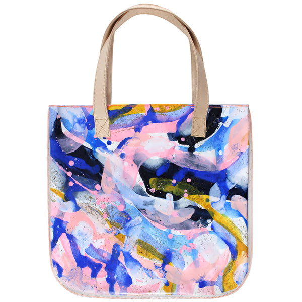 sunshine & stardust | tall tote