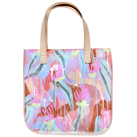 water lily | tall tote
