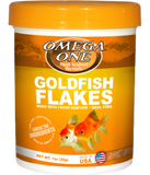 Omega One Gold Fish Flakes (Various Sizes)