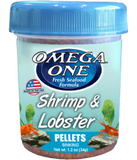 Omega One Shrimp & Lobster Pellets, 1.2 oz (34 g)