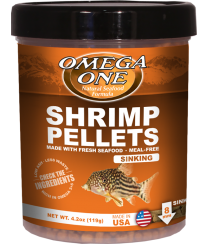 Omega One Shrimp Pellets Food (Various Sizes)
