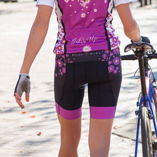 The Daisy Cycling Short - Wild Orchid