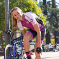 The Daisy Cycling Jersey - Wild Orchid