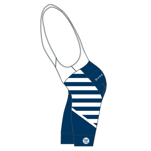 French Stripes Cycling Bibs