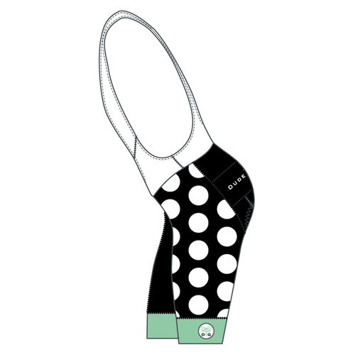 The Dots Cycling Bibs