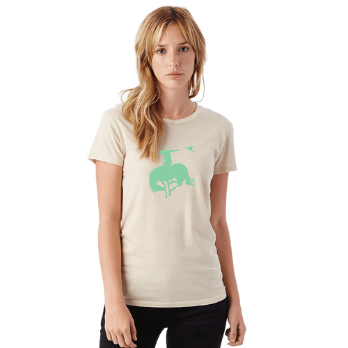 Bucking Horse Tee - Organic Cotton [65% OFF]