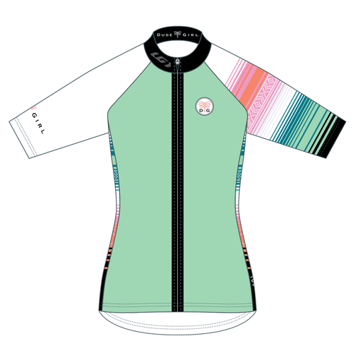 Serape Cycling Jersey - Seaglass