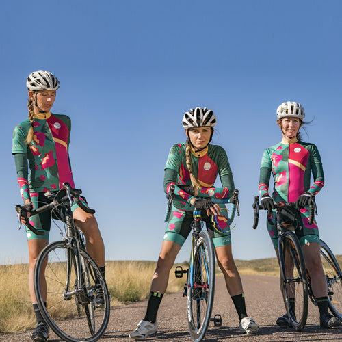 Desert Flower Cycling Bibs