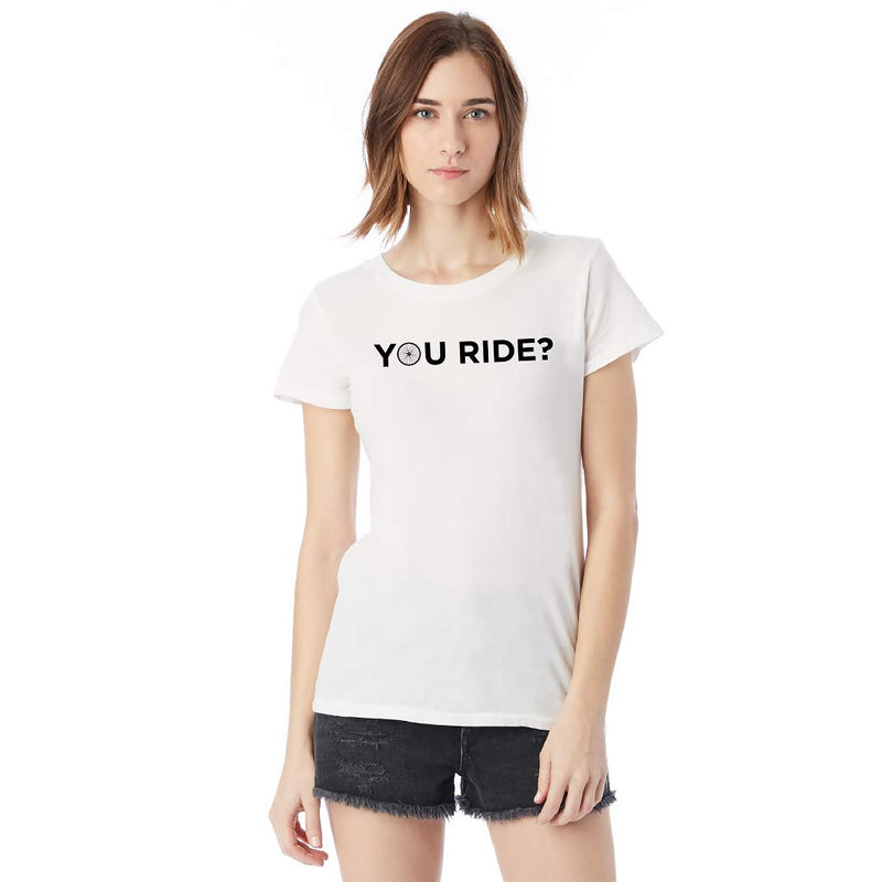 You Ride? Tee - Vintage Style [2 Colors] [NEW]