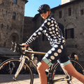 Dots/Stripes Cycling Arm Warmers